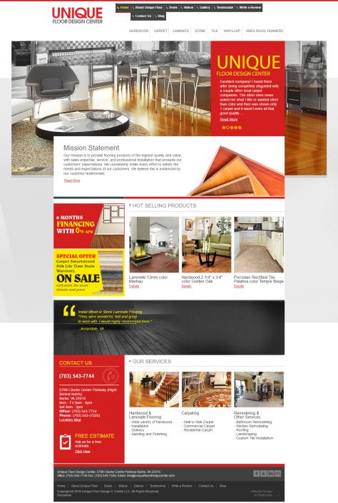 Hardwood Laminate Floors